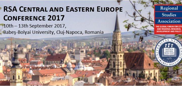 """Conferinţa-""""Polarizare regională şi dezvoltare inegală în Europa Centrală şi de Est. Provocări pentru politicile teritoriale inovative"""","""